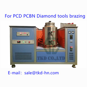Research on PCD vacuum brazing technology
