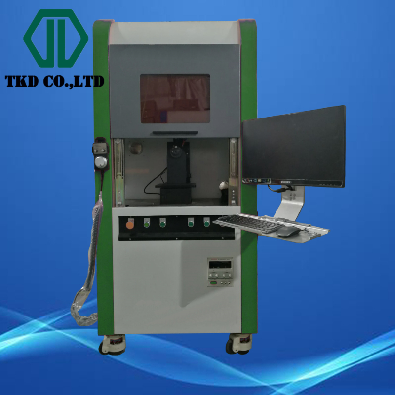 New Fiber Laser Drilling machine for PCD Wire drawing dies